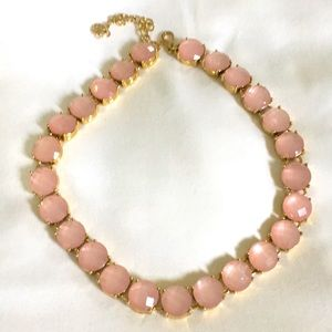 Pink stone necklace